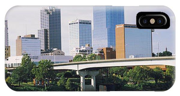 Main Street Bridge Across The Arkansas IPhone Case