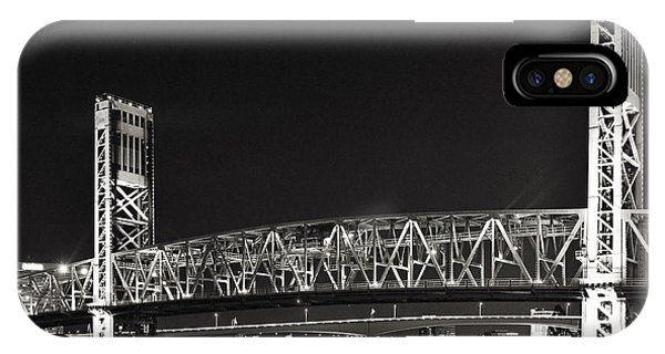 Main Street Bridge Jacksonville Florida IPhone Case