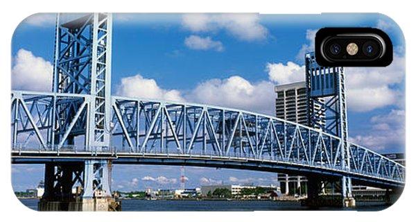 Ironwork iPhone Case - Main Street Bridge, Jacksonville by Panoramic Images