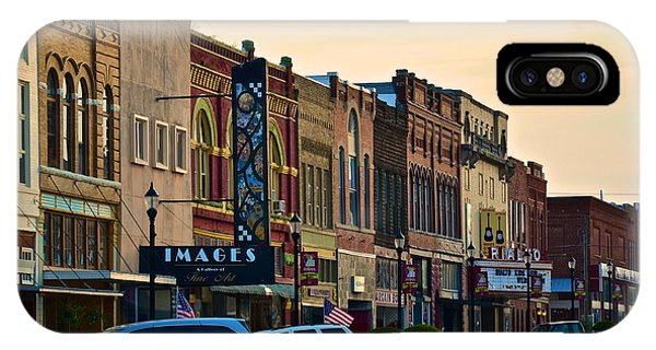 Main Street Denison IPhone Case