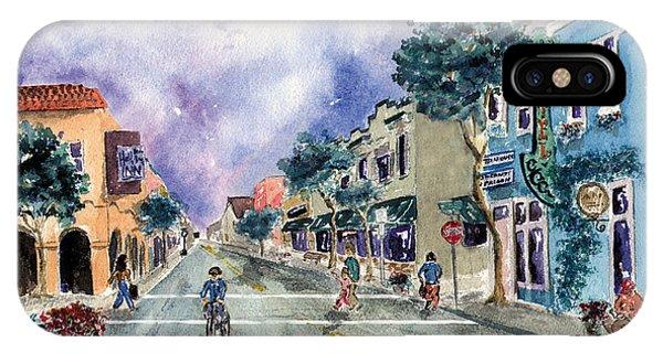 Main Street Half Moon Bay IPhone Case