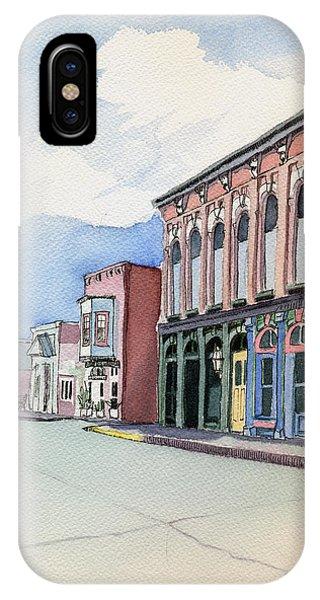 Main Street In Gosport IPhone Case
