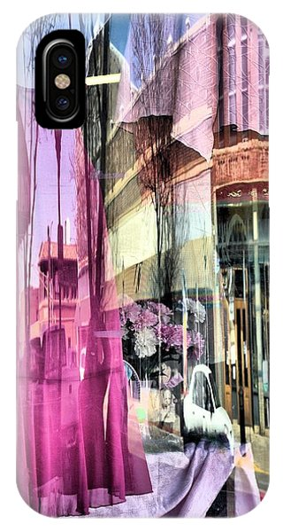 Main Street Reflections IPhone Case