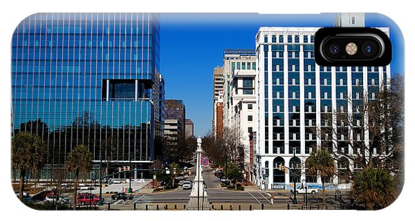 Main Street South Carolina IPhone Case