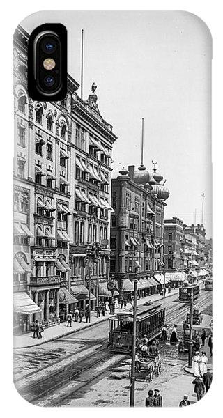 Main Street Springfield IPhone Case