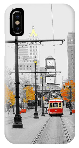 Main Street Trolley  IPhone Case