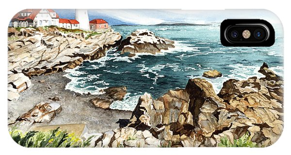 Barbara iPhone Case - Maine Attraction by Barbara Jewell