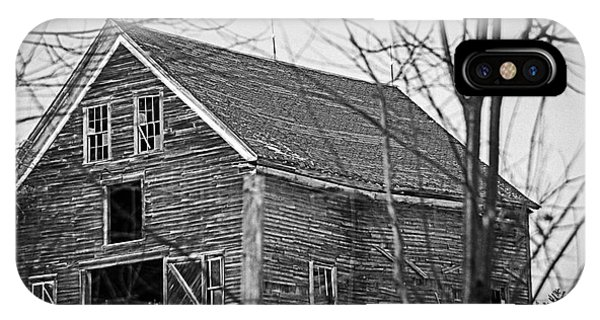 Maine Barn IPhone Case