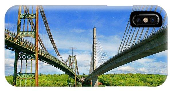 Maine Bridges IPhone Case
