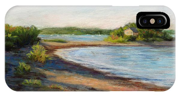 Maine Quiet Bay IPhone Case
