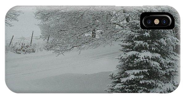 Maine Winter 2014 IPhone Case
