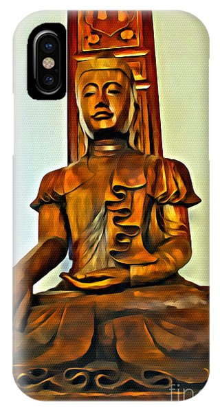 Majestic Buddha IPhone Case