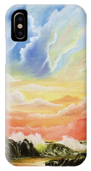 Majestic Clouds Phone Case by Janet Hufnagle