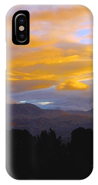 Majestic Earth And Sky IPhone Case
