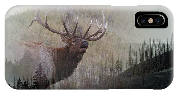 Majestic Elk IPhone Case
