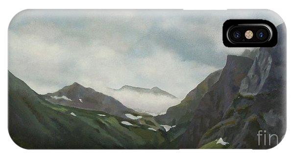 Majestic Glacier Park IPhone Case