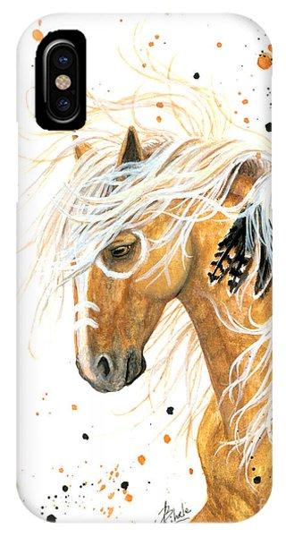 Majestic Palomino Horse 84 IPhone Case