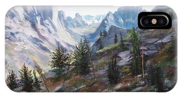Majestic Montana IPhone Case