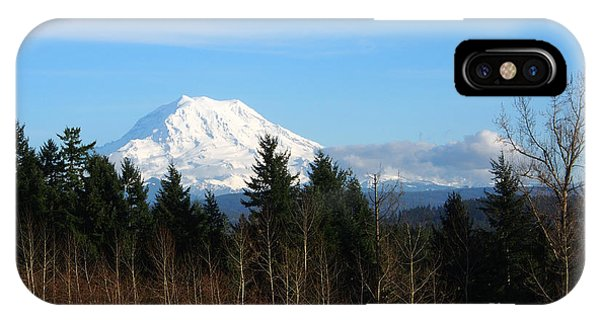 Majestic Mount Rainier IPhone Case