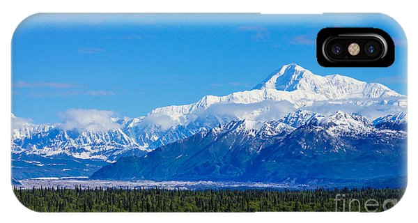 Majestic Mt Mckinley IPhone Case