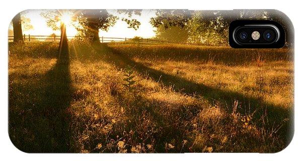 Majestic Oaks Sunrise IPhone Case