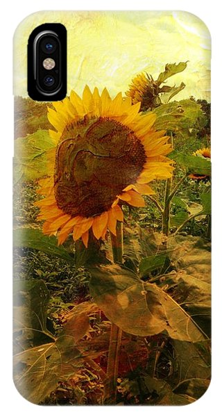 Majestic Sunflower  IPhone Case
