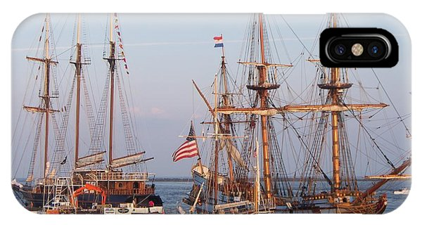 Majestic Tall Ships Phone Case by Rosanne Bartlett