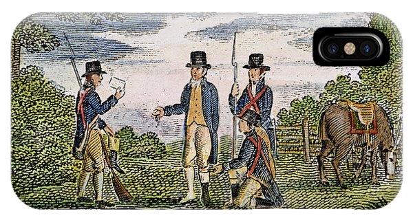 Major John Andre, 1780 IPhone Case