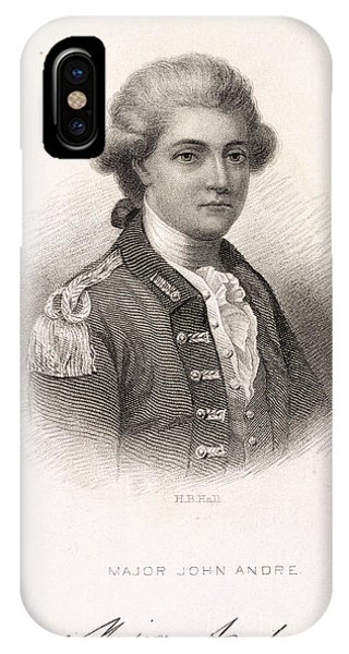 Major John Andre IPhone Case