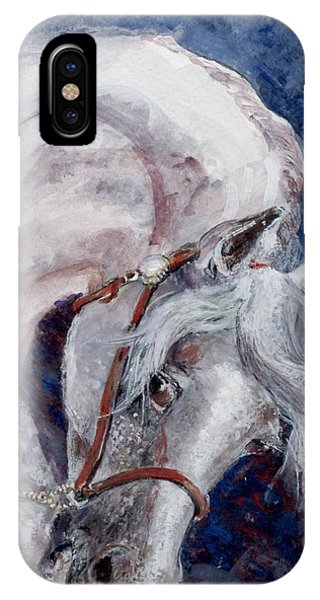 Major Portrait IPhone Case