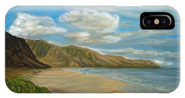 Makaha Beach IPhone Case