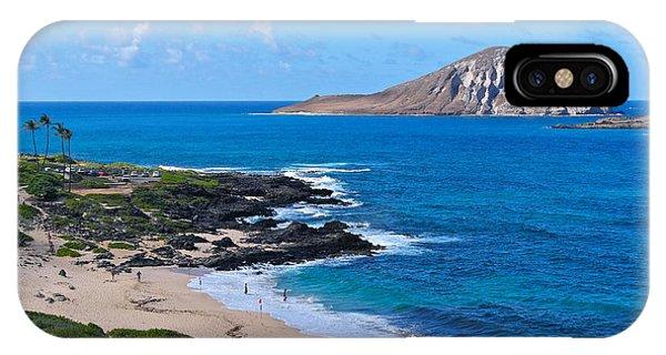Makapuu Beach With Rabbit Island IPhone Case