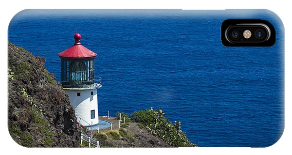 Makapuu Lighthouse 1 IPhone Case