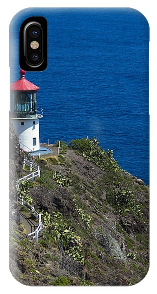 Makapuu Lighthouse2 IPhone Case