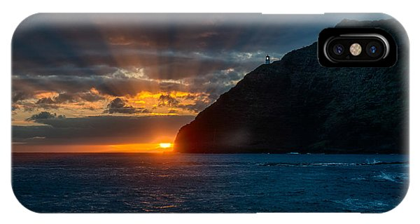 Makapuu Sunrise IPhone Case