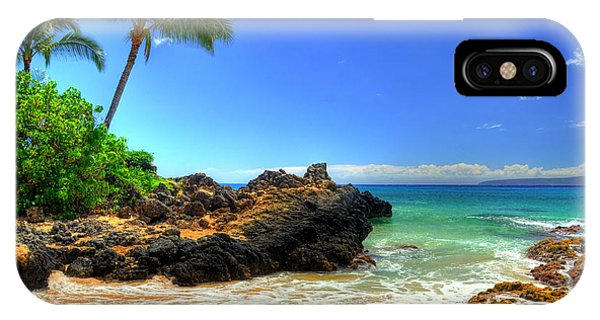 Makena Secret Cove Paako Beach IPhone Case