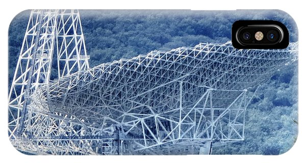 Making Contact - Green Bank Telescope IPhone Case