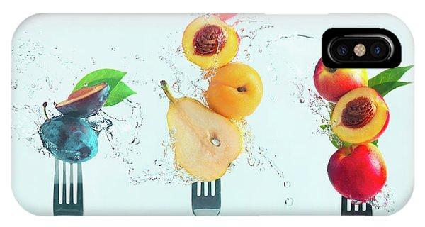 Pear iPhone Case - Making Fruit Salad by Dina Belenko