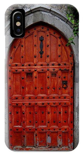Malahide Castle Doorway IPhone Case