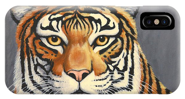 Malayan Tiger Portrait IPhone Case