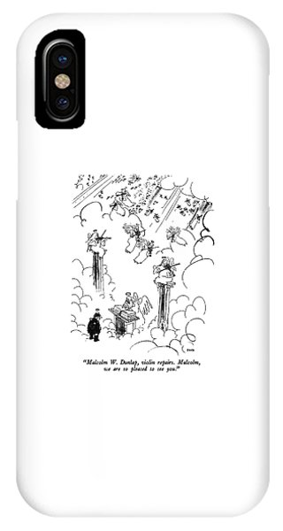 Malcolm W. Dunlap IPhone Case