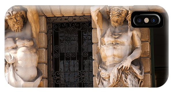Male Caryatids IPhone Case
