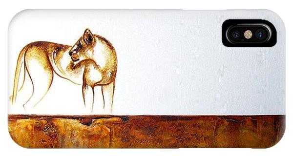 Lioness - Original Artwork IPhone Case