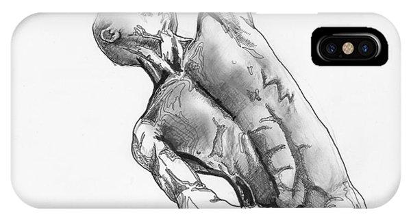 Male Nude 4 IPhone Case