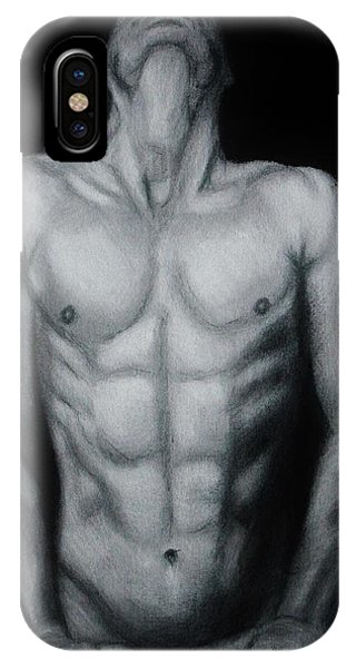 Male Nude Study IPhone Case