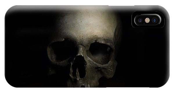 Male Skull IPhone Case