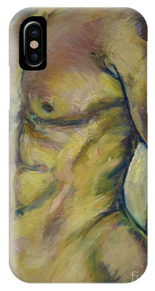Nude Male Torso IPhone Case