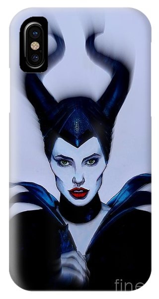Maleficent Focused IPhone Case
