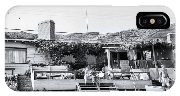 Malibu Beach House - 1960 IPhone Case