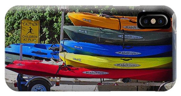 Malibu Kayaks IPhone Case